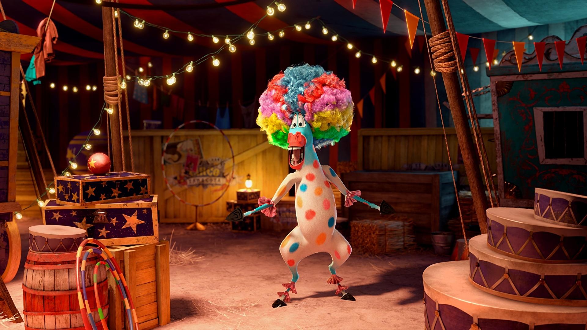 Мультфильмы про цирк