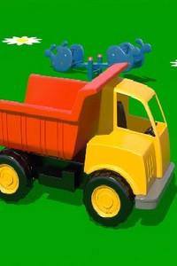 Про машинки на детской площадке